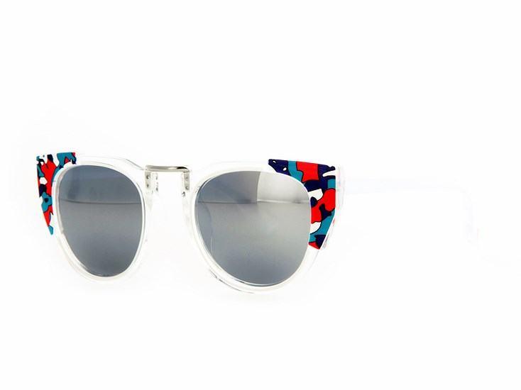 Dámské sluneční brýle Glam - černé Color