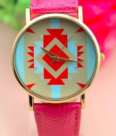 Dámské hodinky AZTEC - růžové