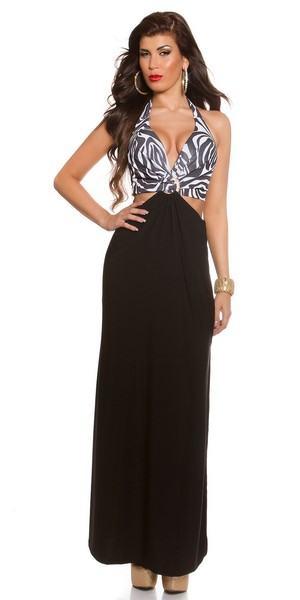 Dámské trendy šaty Kenley - zebra