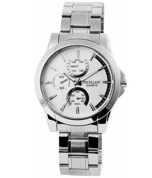 Pánské kovové hodinky Excellanc stříbrné