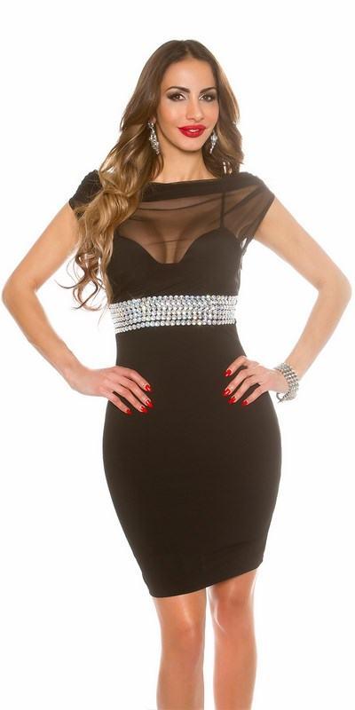 Levně Dámské šaty Clarisa černé