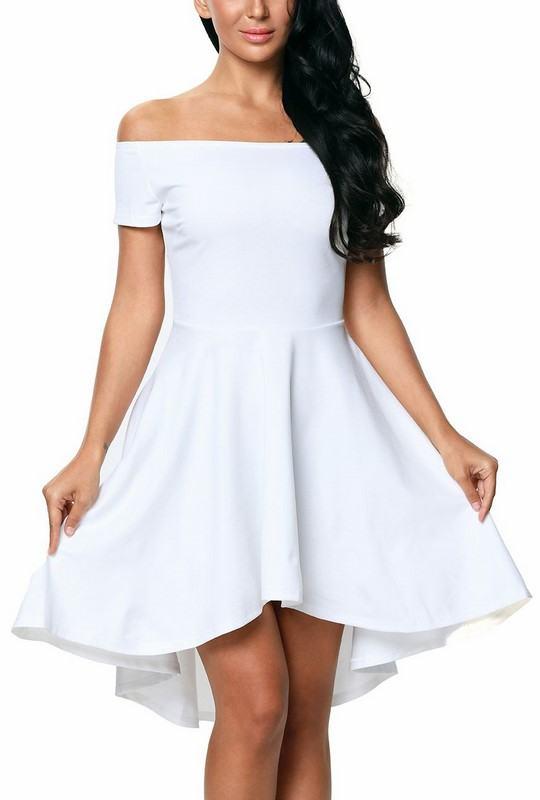 Dámské šaty Noelia - bílé