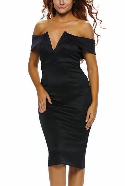 Dámské šaty Berenice - černé
