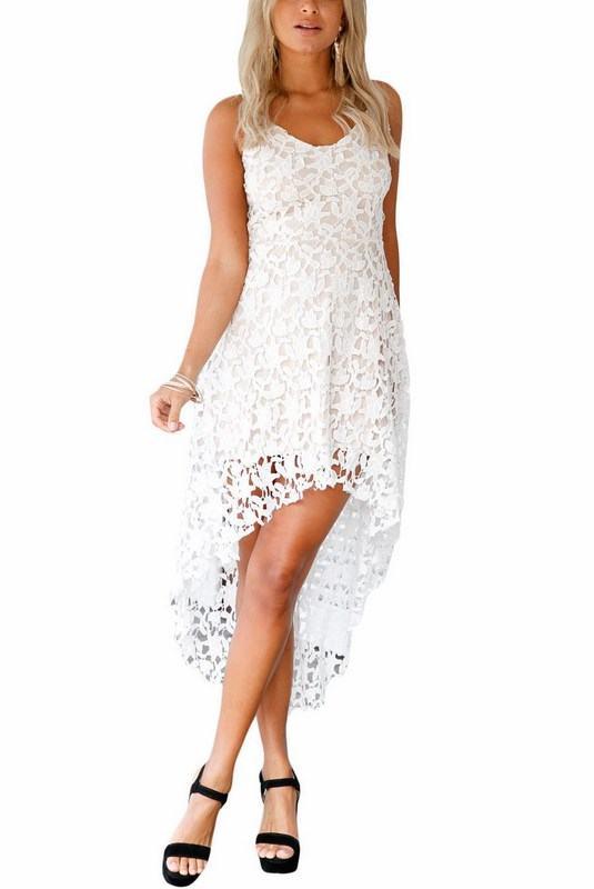 Krajkové šaty Luna - bílé