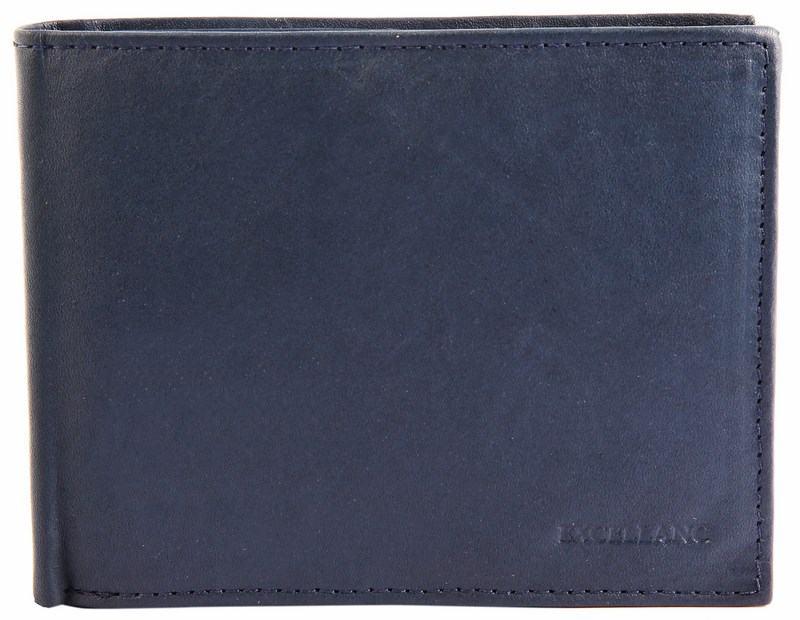 Pánská kožená peněženka - modrá