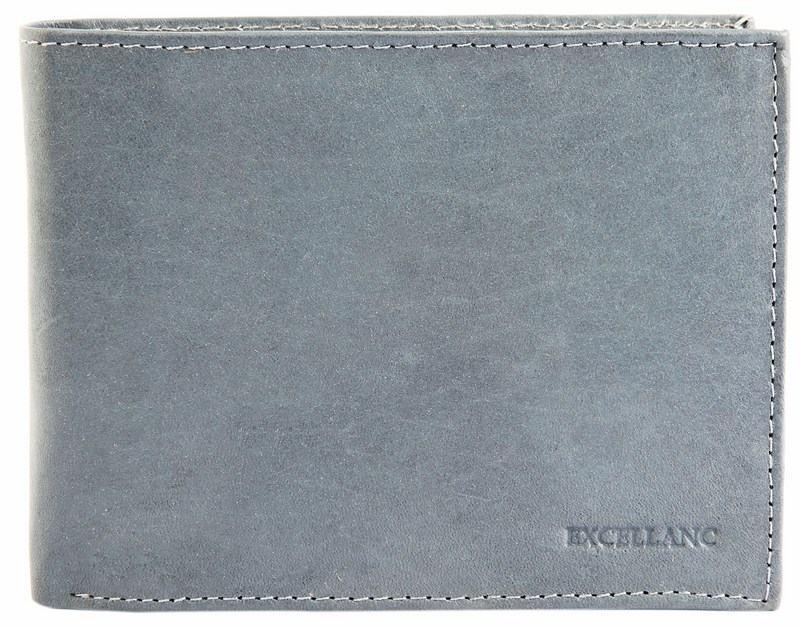 Pánská kožená peněženka - šedá