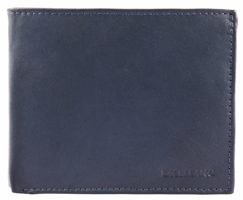 Pánská kožená peněženka - tmavomodrá