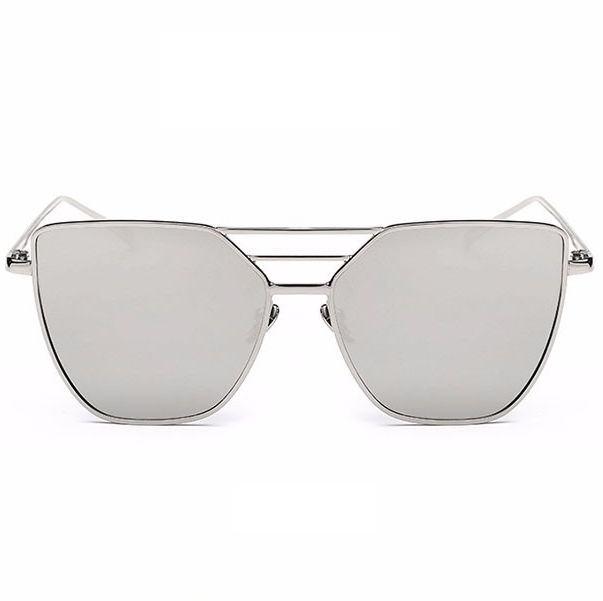 Dámské sluneční brýle Francisca stříbrné