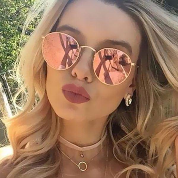 Dámské sluneční brýle Lilja růžové