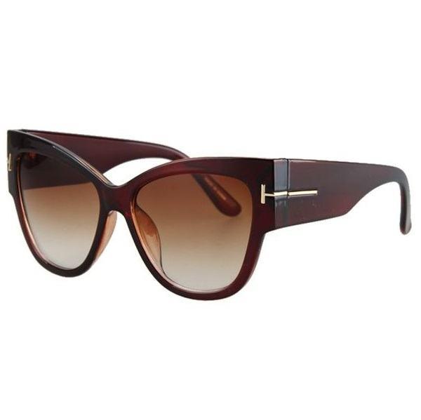 Dámské sluneční brýle Massive hnědé