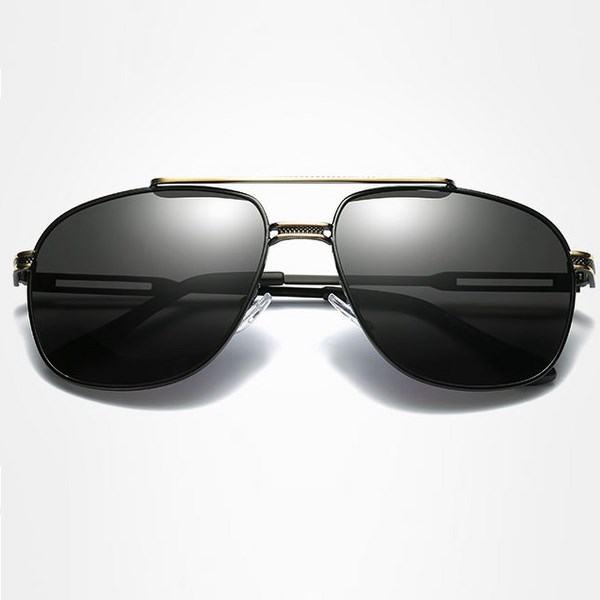 Polarizační sluneční brýle pilotky Andree zlaté černé